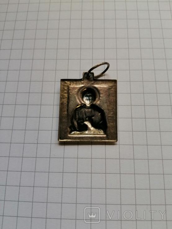 Ладанка,икона (серебро), фото №4