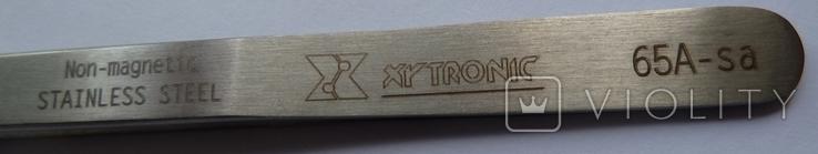 Пинцет изогнутый Xytronic 65A-sa, фото №3