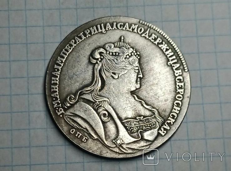 Рубль 1738 Анна копия, фото №2