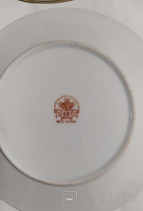Тарелки Китай, времен СССР. Не пользованные.3., фото №6