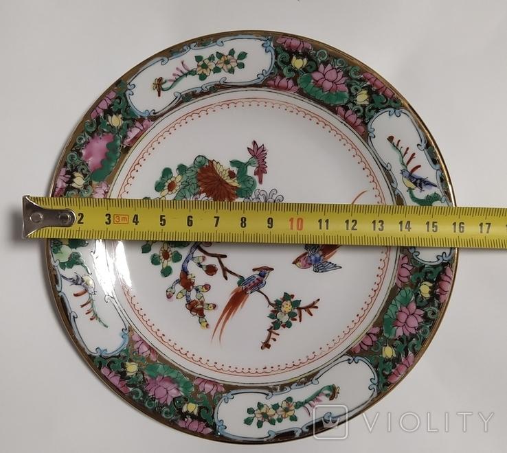 Тарелки Китай, времен СССР. Не пользованные.3., фото №7