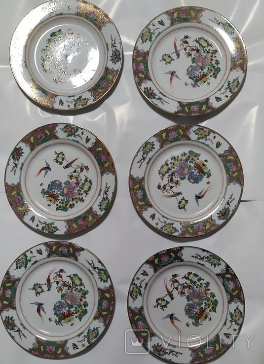 Тарелки Китай, времен СССР. Не пользованные.5., фото №2