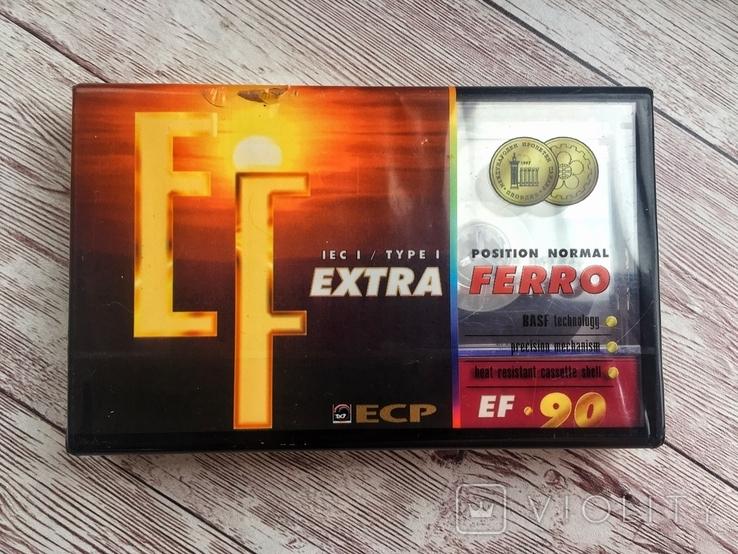 Аудиокассета ECP EXTRA FERRO EF-90, фото №2