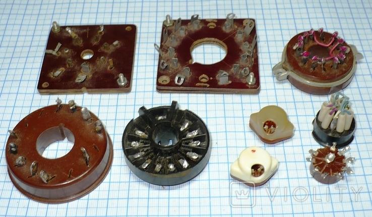 Панельки для ламп 9 штук., фото №2