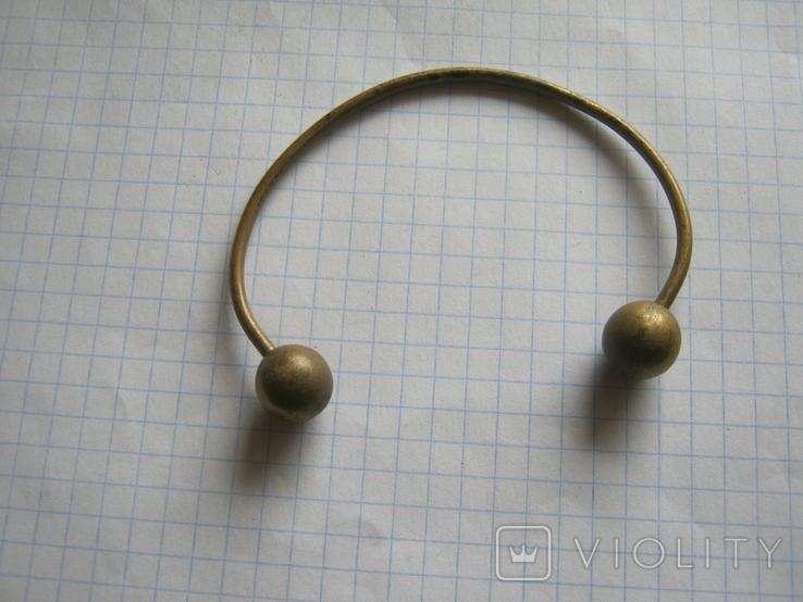 Латунный браслет, фото №2