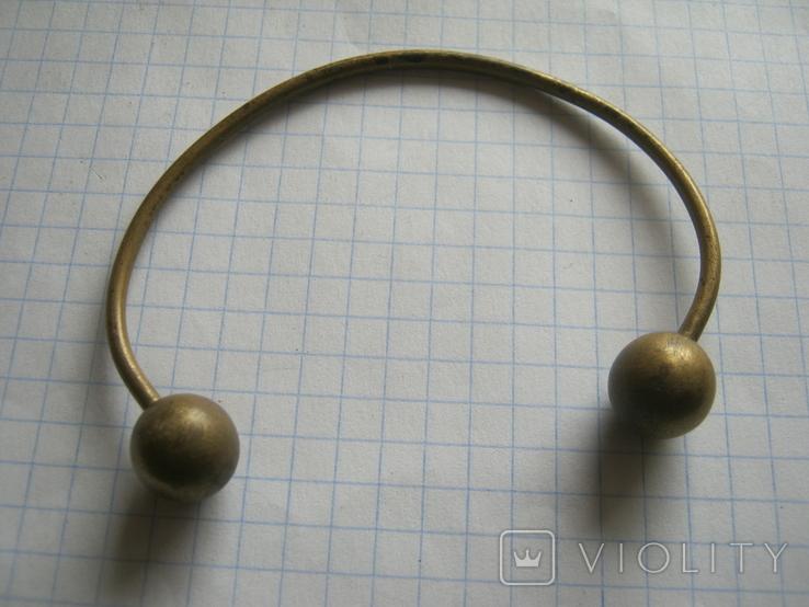 Латунный браслет, фото №3
