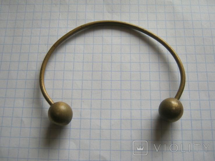 Латунный браслет, фото №4