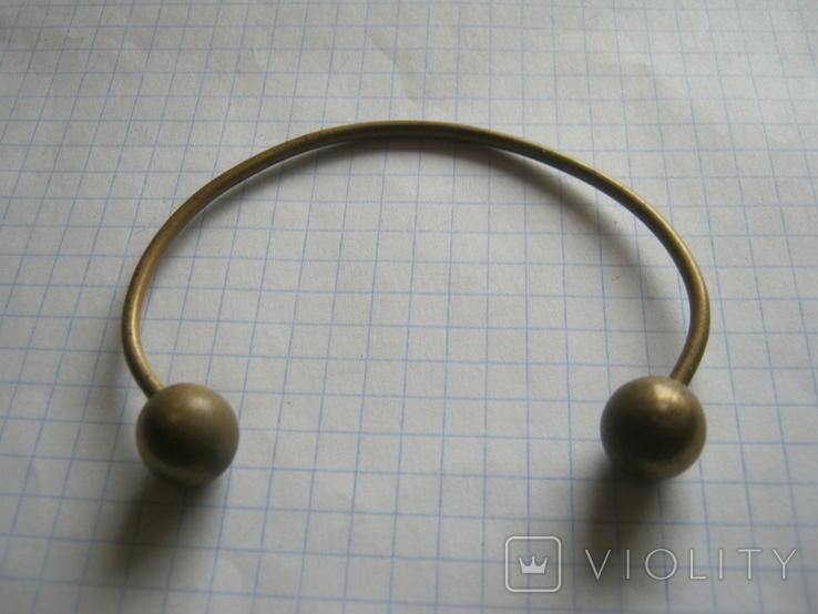 Латунный браслет, фото №7