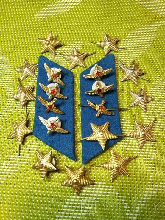 Советские форменные пуговицы, звездочки и петлички, фото №4
