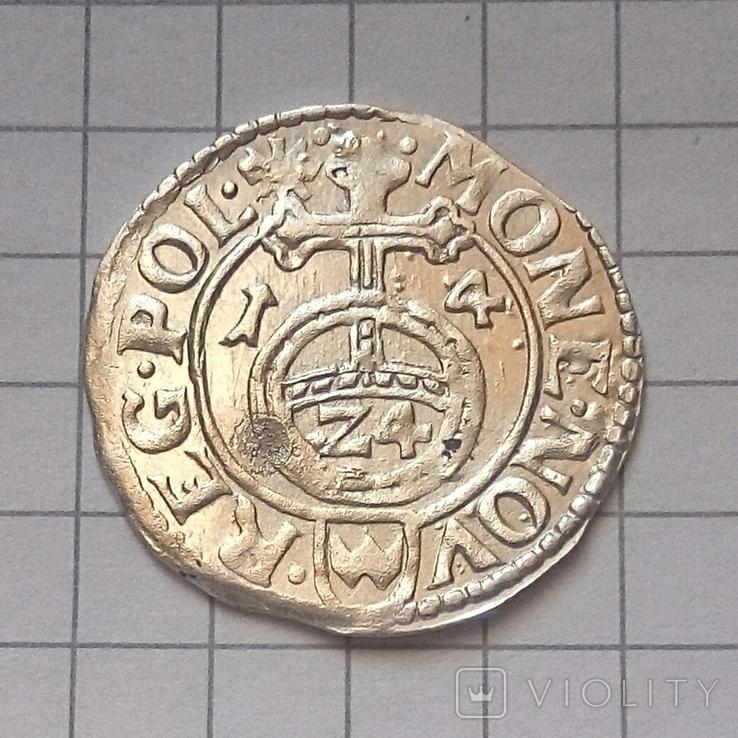 Полторак ( 1/24 талера ) 1614 года - Краков, фото №4