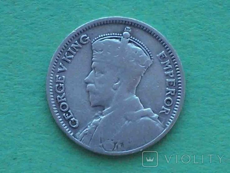 Новая Зеландия 1933 6 пенсов, Георг V, фото №2