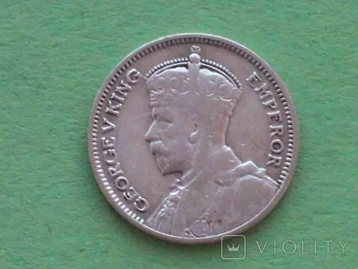 Новая Зеландия 1934 6 пенсов, Георг V, фото №2