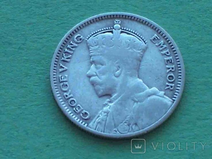 Новая Зеландия 1934 6 пенсов, Георг V, фото №3