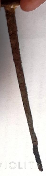"""Кованный гвоздь, 17-19 век.Из дворца """"Качановка"""".+*, фото №6"""