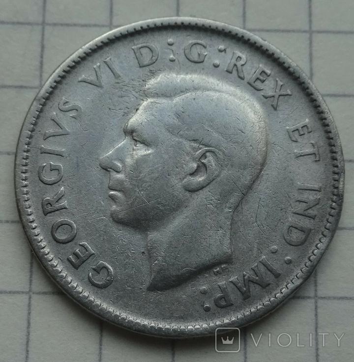 1943 год, Канада, 25 центов., фото №2