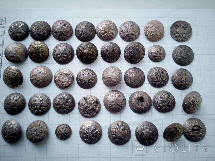 Пуговицы орлянки 40 шт., фото №2