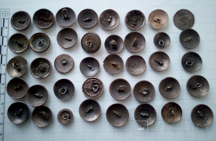 Пуговицы орлянки 40 шт., фото №3