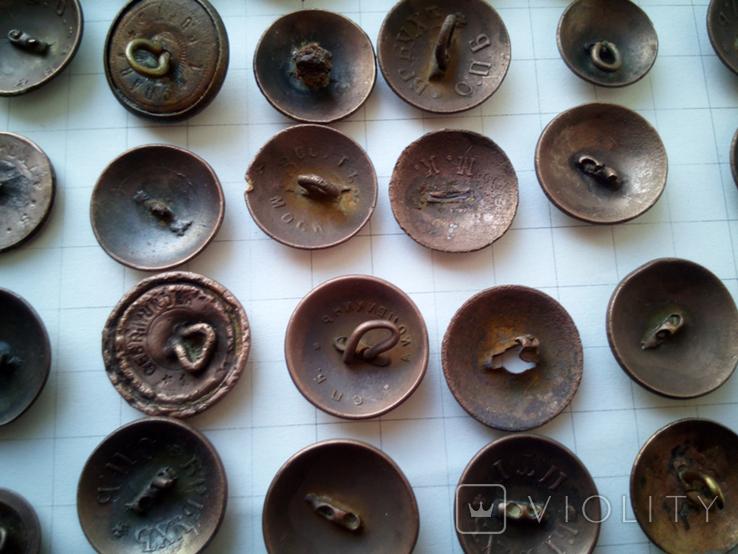 Пуговицы орлянки 40 шт., фото №11