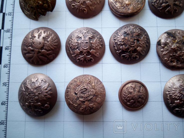 Пуговицы орлянки 40 шт., фото №12