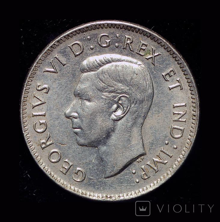 Канада 5 центов 1938, фото №3