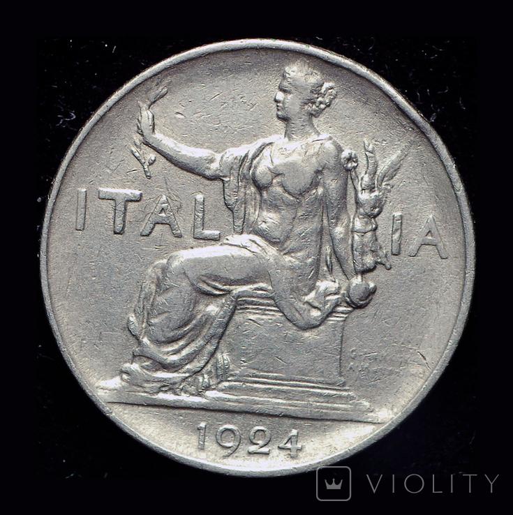 Италия лира 1924, фото №2