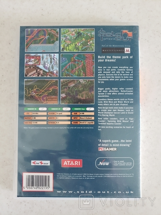 Roller Coaster Tycoon 2 (PC), фото №3