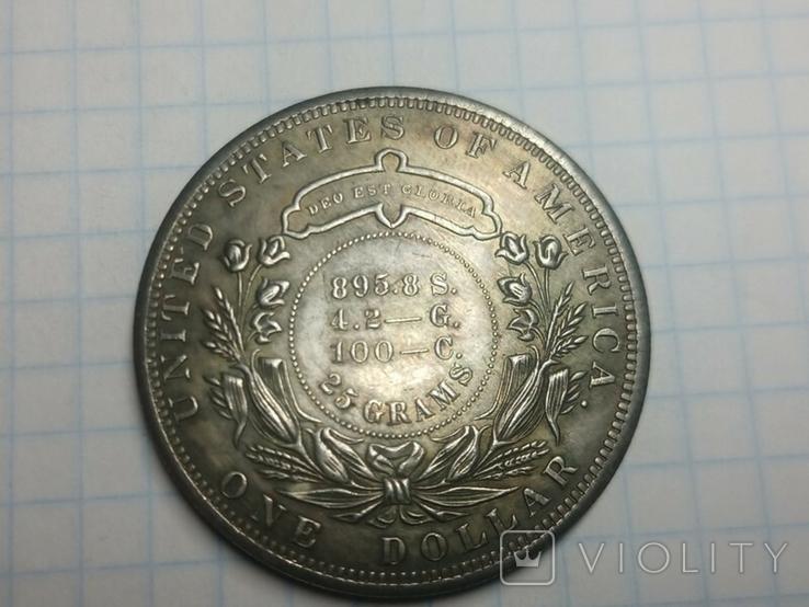 Доллар 1879 тип 2 копия, фото №3