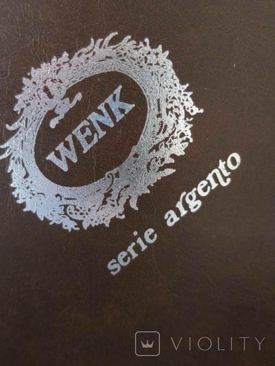 Картина GIANCARLO VITALI 1981 г. документы (Сертификат). Серебро 800 Италия., фото №10