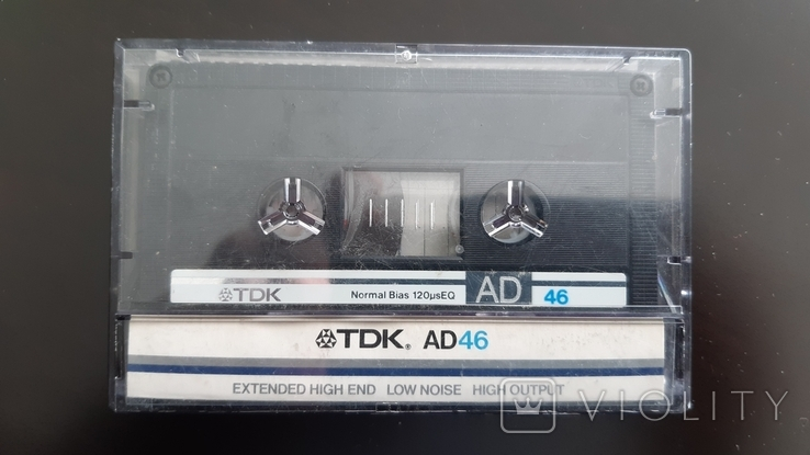 Касета TDK AD 46 (Release year: 1985), фото №2