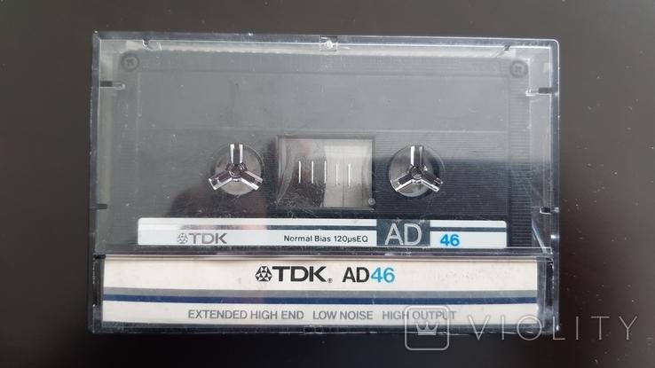Касета TDK AD 46 (Release year: 1985), фото №2