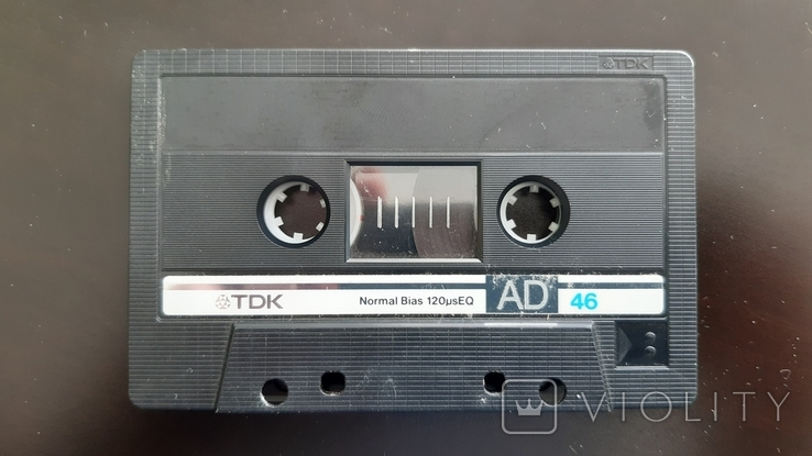 Касета TDK AD 46 (Release year: 1985), фото №5