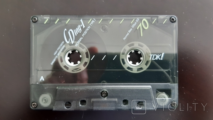 Касета TDK CDing I 70 (Release year: 1991), фото №5
