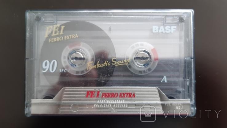 Касета Basf Ferro Extra I 90 (Release year 1995), фото №2
