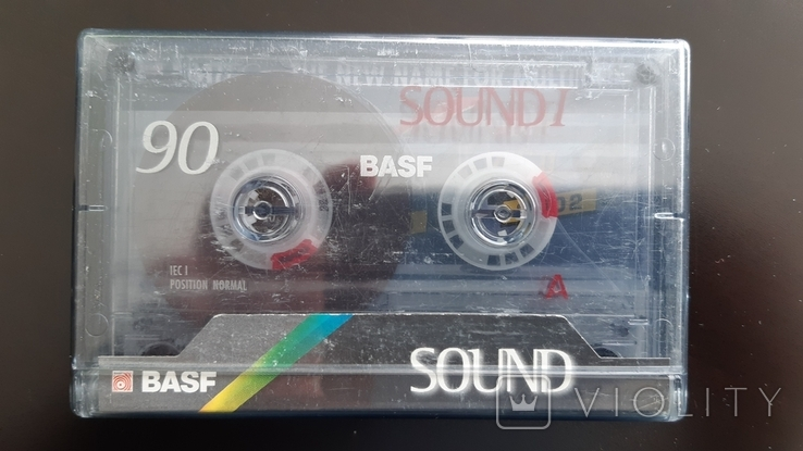 Касета Basf Sound I 90 (Release year: 1998), фото №2