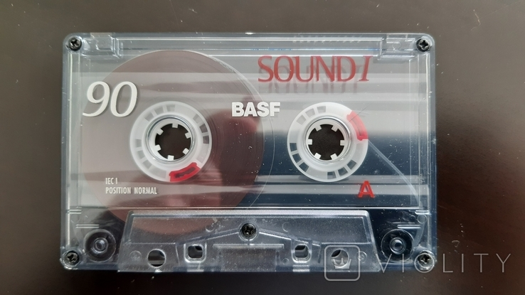 Касета Basf Sound I 90 (Release year: 1998), фото №4