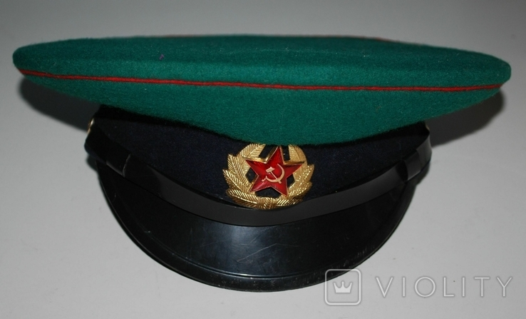 Фуражка ПВ КГБ СССР, 54 р., фото №2