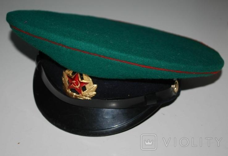 Фуражка ПВ КГБ СССР, 54 р., фото №3