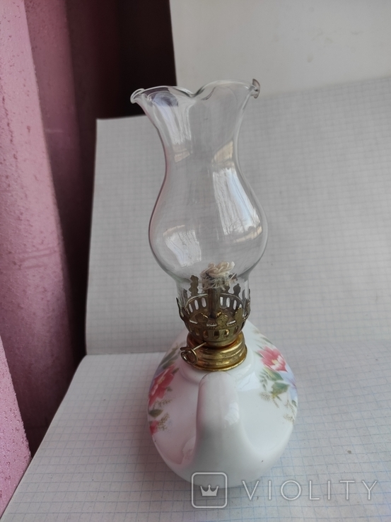 Две керосиновые лампы., фото №6