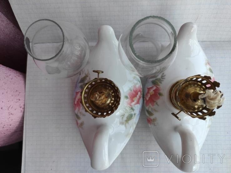 Две керосиновые лампы., фото №11