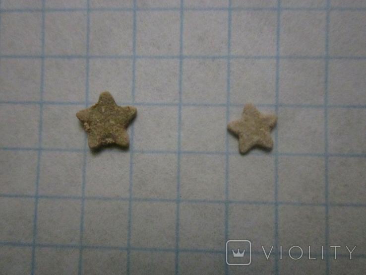 Звёздочки (разновидность морской лилии) 2шт. №4, фото №4