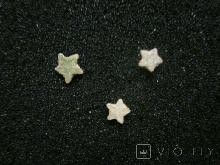 Звёздочки (разновидность морской лилии) 3шт. №6, фото №3