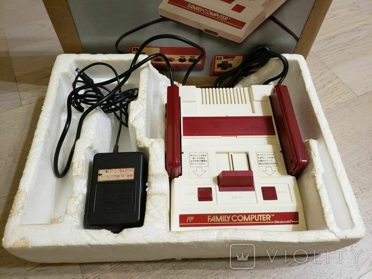 Оригінальна консоль Nintendo Famicom (NTSC, Japan), фото №7