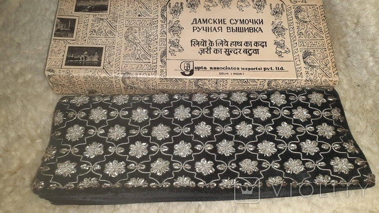 Дамская сумочка ручная вышиванка, фото №5