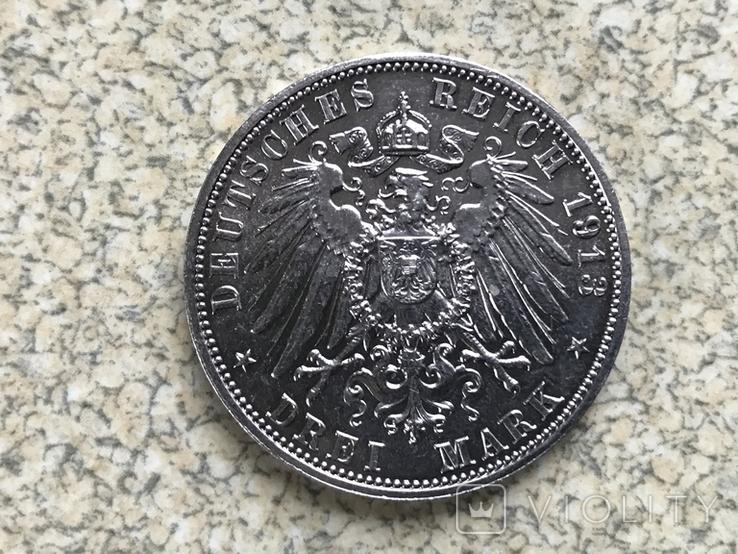 3-марки.1913р.Лейпциг, фото №3