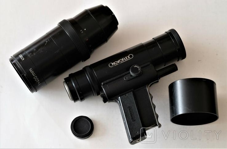 Novoflex T-Noflexar 15,6 f-400 мм М 42, фото №4