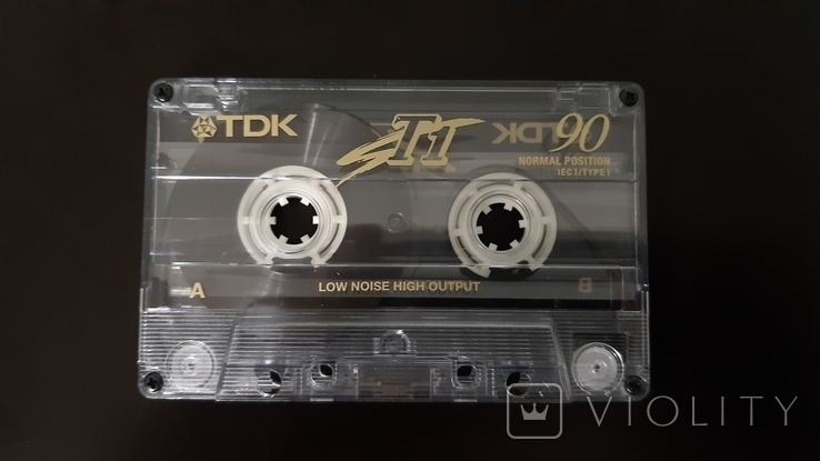 Касета TDK T1 90 (Release year 1997) 2, фото №4