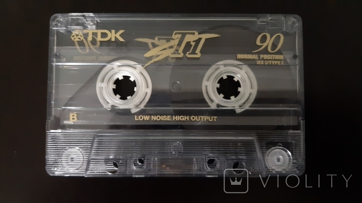 Касета TDK T1 90 (Release year 1997) 2, фото №5