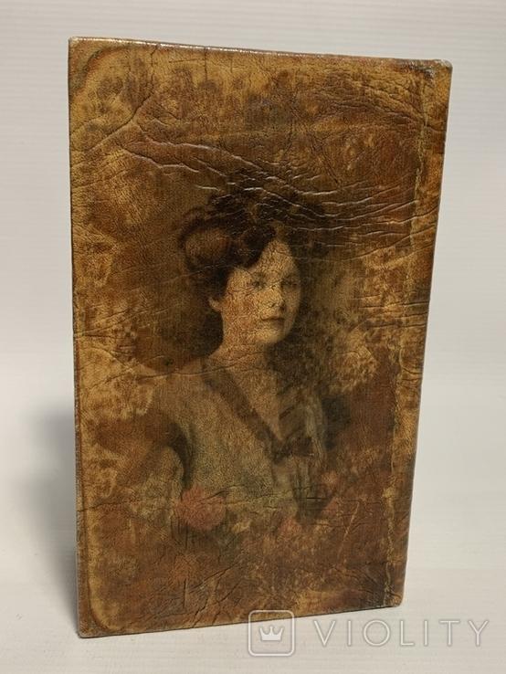 Шкатулка с изображением девушки, фото №6
