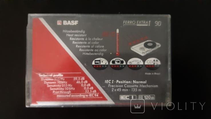 Касета Basf Ferro Extra I (Release year 1991) №1, фото №3