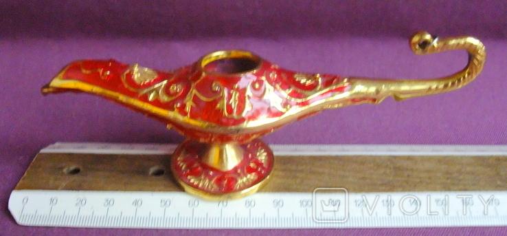 Светильник - лампа маслянная (мини) сувенир с Востока., фото №4